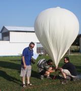 A ballon felfújása