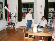 Előadás és képkiállítás Magyarszecsőd községben, a PHARE CBC projekt keretében.