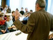 A hallgatóságot teljesen lenyűgözte a sziporkázó előadásmód valamennyi rendezvényen.