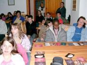 Előadás a Kőszegi hegységben a Stájer Házaknál, az Erdei Iskolában.