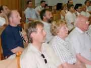 A nemzetközi konferencia résztvevői.
