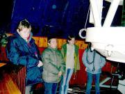 A GAO csillagvizsgálójában Szombathelyen.