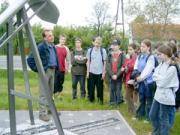 2004. május 10-én a budapesti Veress Péter Gimnázium 8. osztályosai látogattak el hozzánk Hegyhátsálra.