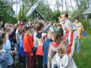 Tóalmási iskolások látogatása 2004. június 3-án