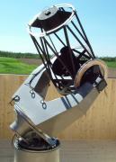 Az 50 cm tükörátmérőjű teleszkóp.