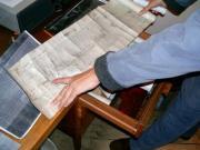 Magyar-szlovén-szlovák-osztrák szakmai tapasztalatcsere megbeszélés a Szlovák Központi Csillagvizsgálóban Hurbanovón, 2005. december 10-én. Földrengés jelző műszer adatsora.