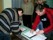 Együttműködési megállapodás aláírására került sor 2005. november 20-án Zalaegerszegen a Vega Csillagászati Egyesülettel.