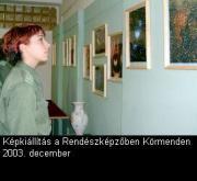 Képkiállítás 2003. december